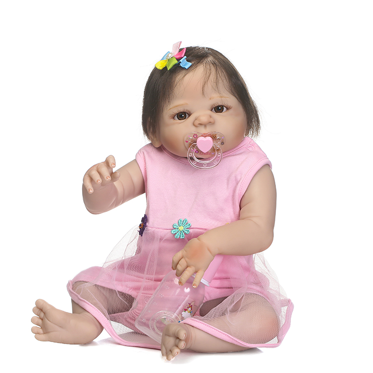 NPKCOLLECTION pre-order reborn baby doll Gifts for children on Christmas real gender touch full vinyl girl doll