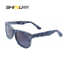 Free Shipping New Arrival neutral Denim style brand Sunglasses 100% Genuine Hand unisex sports Oculos De Sol 3013