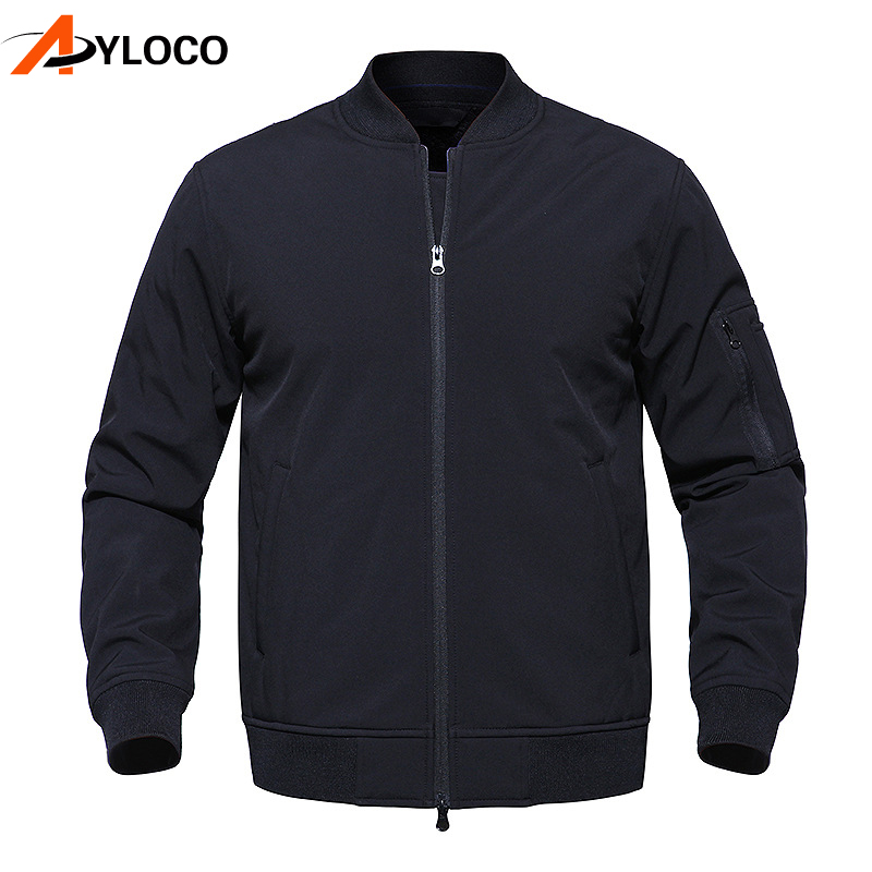 Military Bomber Tactical Jackets Men Army Camouflage Coat Soft Shell Waterproof Windproof Hiking Jacket Windbreaker Clothes