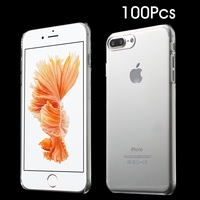 100Pcs Set For IPhone 7 Plus 5 5 Inch Phone Cases Glossy Crystal Clear PC Hard