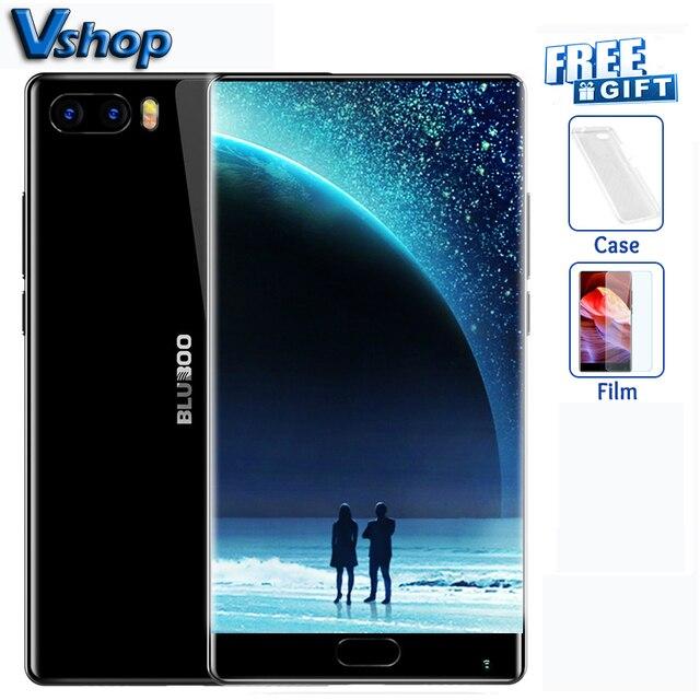 Original BLUBOO S1 4G Mobile Téléphones Android 7.0 4 GB RAM 64 GB ROM Octa base Smartphone Double Retour Caméra 1080 P 5.5 pouce Cellulaire téléphone