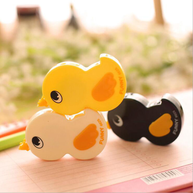 Kawaii little duck Correction Tape Cute deco rush tape stationery Promotional products tape roller Office School Supplies G144