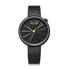 Julius Watch Creative Slice Dial Design New Arrival Watch Women's Watch Casual Unique Quartz Stylish Watch Relojes Mujer JA-1106