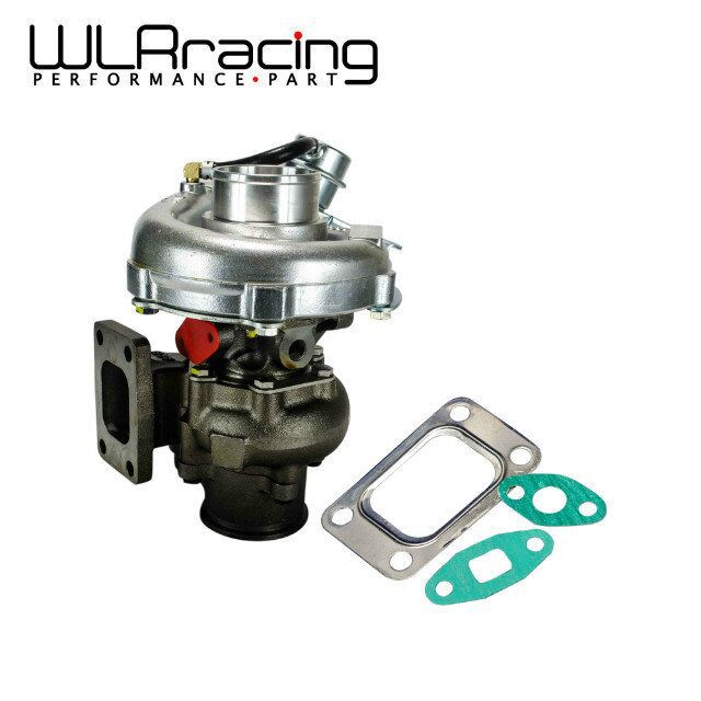 WLR RACING - KKR430 T430 Turbocharger For Nissan RB20 RB25 2-3L T3 Turbine .58 A/R comp. .50 A/R turbo WLR-TURBO36 кривошипно шатунный механизм no logo 3pcs set nissan skyline rb20 rb25 rb26
