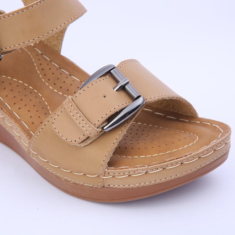 De Sandalias Mujeres Cuña A3rl5j4 Las Zapatos Casuales fgvmyYb7I6