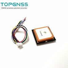 TTL UART GPS Modülü GN-801 GPS GLONASS çift modlu M8n GNSS Modülü Anten Alıcısı, dahili FLAŞ, NMEA0183 FW3.01 TOPGNSS