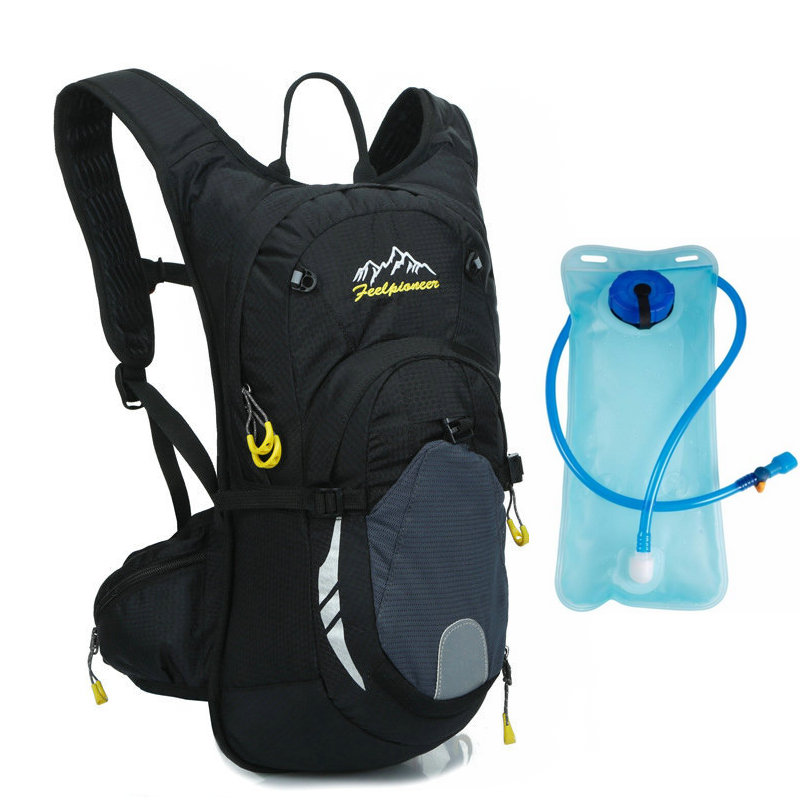 a8945e1da85 6 Color bicicleta hidratación de Nylon impermeable 15L mochila ciclismo +  2L bolsas de agua de gran capacidad de bicicleta de montaña mochila