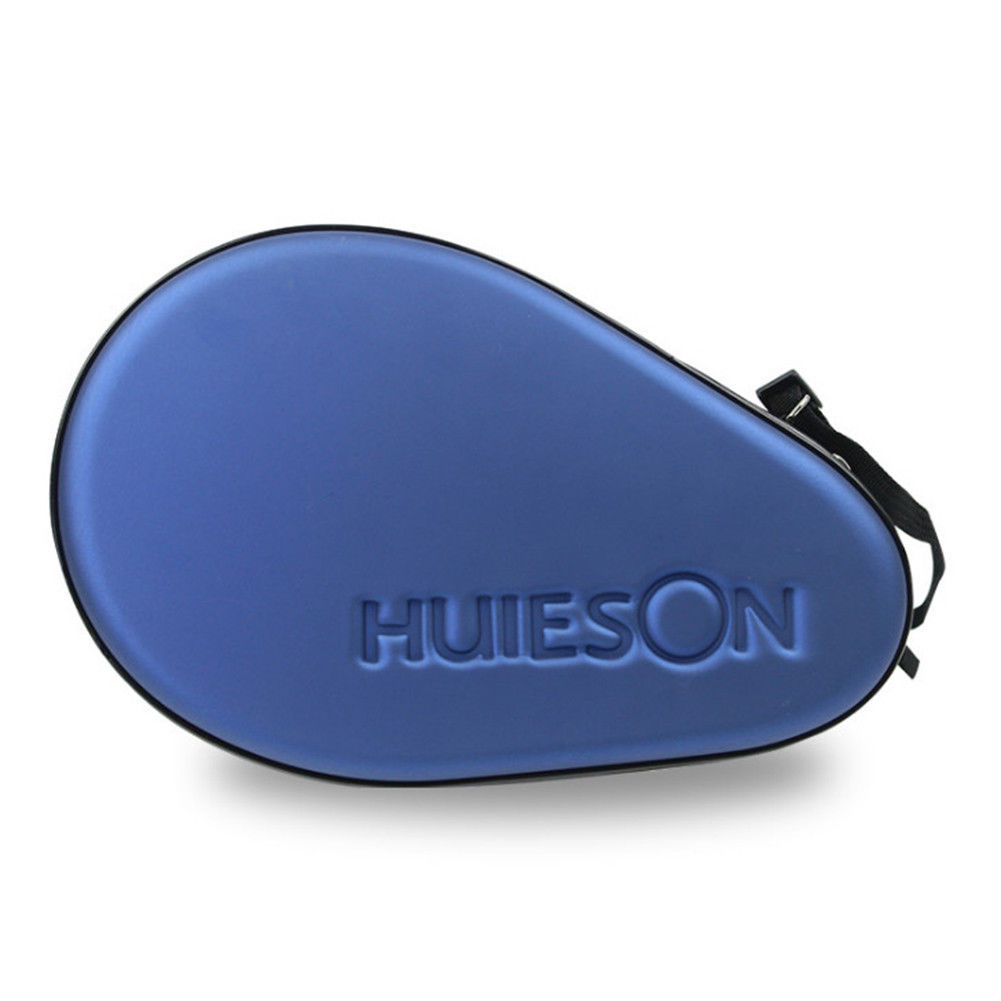 HUIESON Hard Protective Table Tennis Racket Case Bag Ping Pong Bat Padd Cover Waterproof Racket Sports Table Tennis Supplies