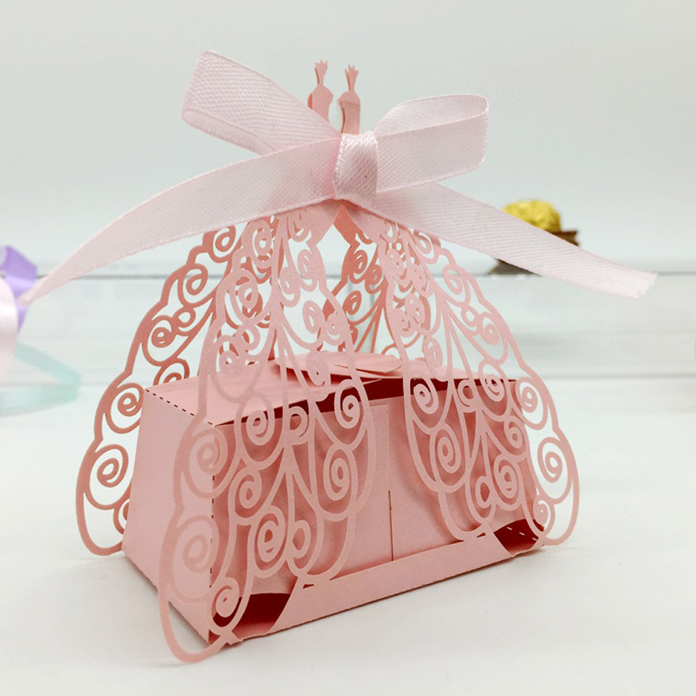 50pcs DIY Romantic Candy Cookie Gift box for Wedding Party ...