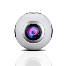 360 панорама Камера VR Камера 2048*1024 Ultra HD видео двойной Широкий формат объектив 720 градусов панорамный Камера для Android смартфон