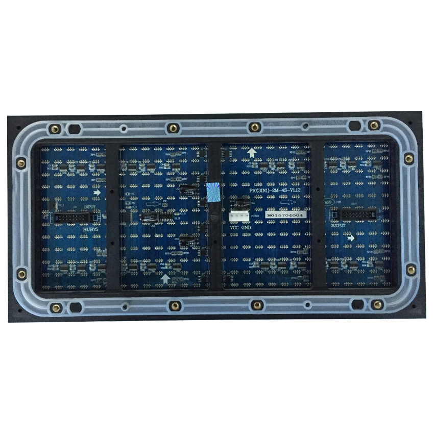 High Quality P10 DIP 32x16dots 320*160mm Outdoor Led Full Color Module, Led Panel For Led Video Wall Billboard Screen Pantalla