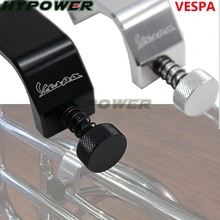 For Vespa All Model GTS LX LXV Sprint Primavera 50 125 250 300 Bag Frame Hook Crotchet Grips Free Adjustment