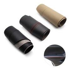 1 Paar Voor/Achter Deurklink Panelen Armsteun Microfiber Lederen Covers Bescherming Trim Voor Mazda CX 5 2012 2013 2014 2015