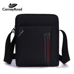 Image 1 - Carneyroad High Quality Men Shoulder bag Waterproof Ipad handbags Casual Messenger bags For Men