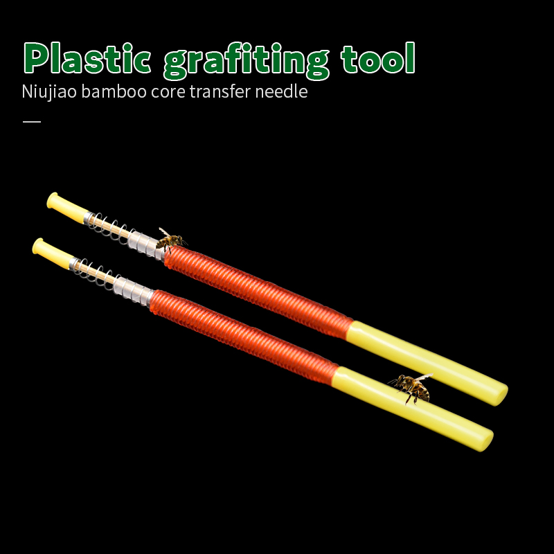 Beekeeping Grafting Tool Bee Queen Larva Apiculture Retractable Grafting Equipment Supplies Insect Needle Breeders Tools 10pcs