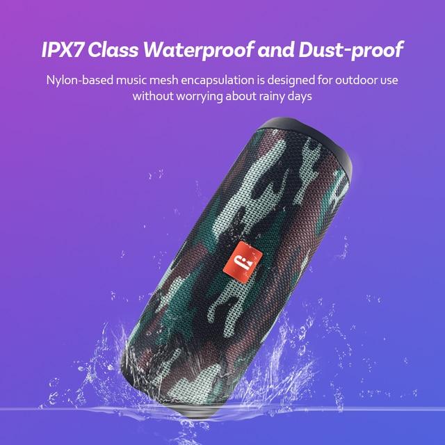 Original Bluetooth Speaker Filp5 Waterproof Portable Outdoor Wireless Mini Column Box Support TF card Stereo PK JBL Hi-Fi Boxes 1
