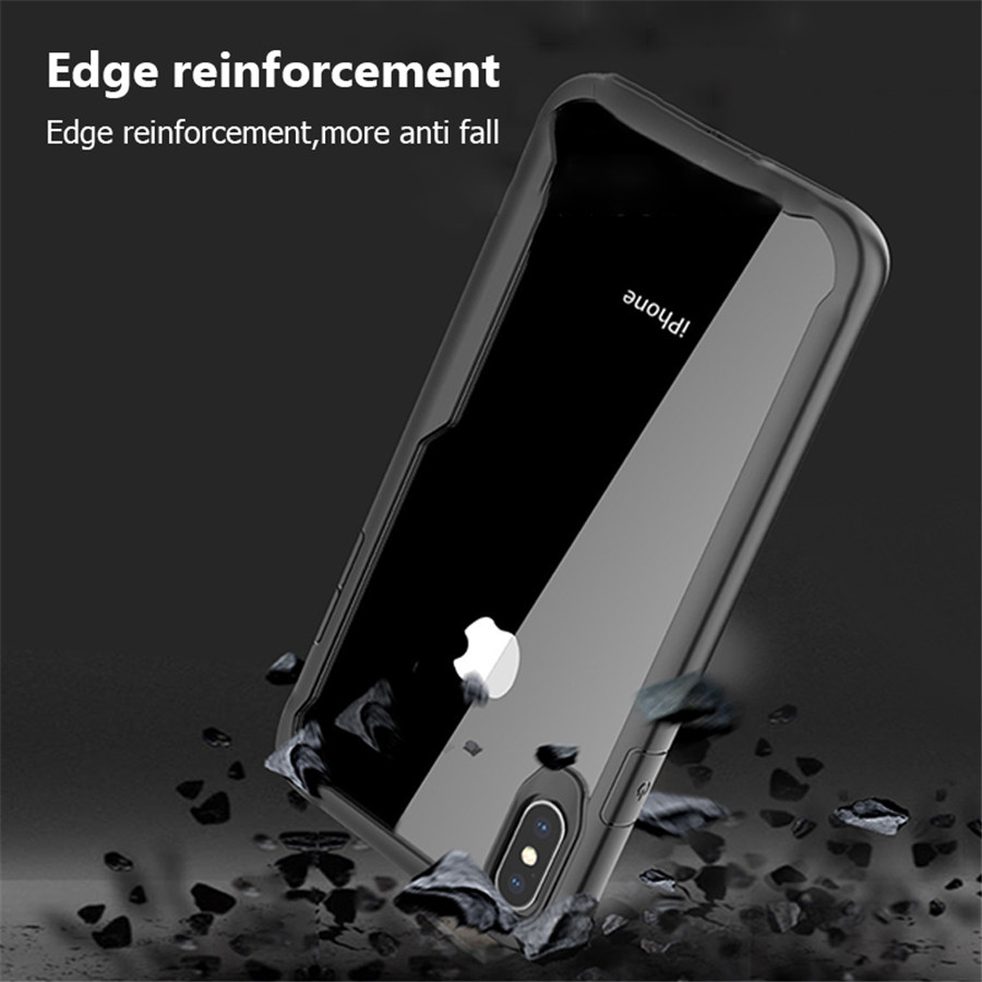Tikitaka-Shockproof-Armor-Case-For-iPhone-XS-XR-8-7-Plus-Transparent-Case-Cover-For-iPhone (5)