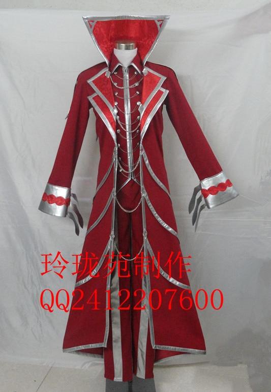 Legends Anime Vladimir Party  Cosplay Costume custom any size