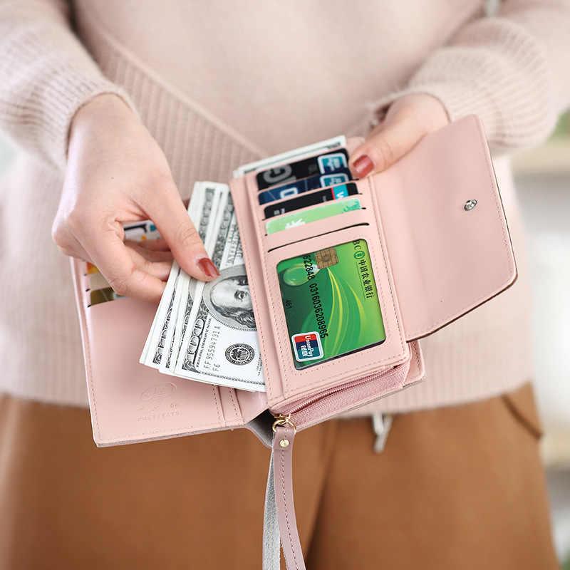 2018 женские кошельки из нубука, винтажный длинный женский кошелек, модный держатель для карт, кошелек для монет, Карманный Женский кошелек, женский клатч, браслет