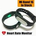 Xiao mi mi banda 1 s 1 s pulso pulseira miband inteligente 1 S Monitor de Freqüência Cardíaca Pulseira Inteligente Para Android 4.4 iOS 7.0 IP67