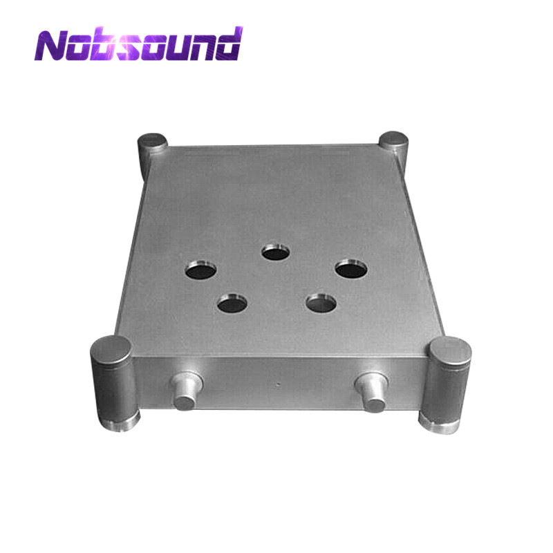 Nobsound 300B Vacuum Tube Amplifier Chassis Aluminium Enclosure DIY Case Audio Box Silver queenway audio bz2012rkv aluminium amplifier chassis multi amplifier case 202mm 143mm 362mm 202 143 362mm
