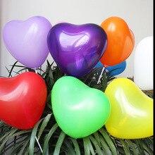 10-20pcs  Heart-shaped Balloons Birthday Party Decoration Macaron Latex Balloon for Wedding Marriage Room Scene Decor