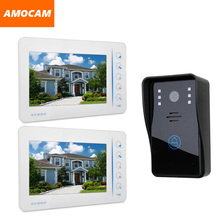 7″ Touch Screen Video door phone Intercom Doorbell System video Doorphone Speakerphone Support 4 Channel CCTV Camera