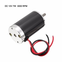 Uxcell(R) Hot Sale 1Pcs ZYTD 38SRZ R DC 12V Motor 3000RPM 7W Permanent Magnet Micro Brushed Motor