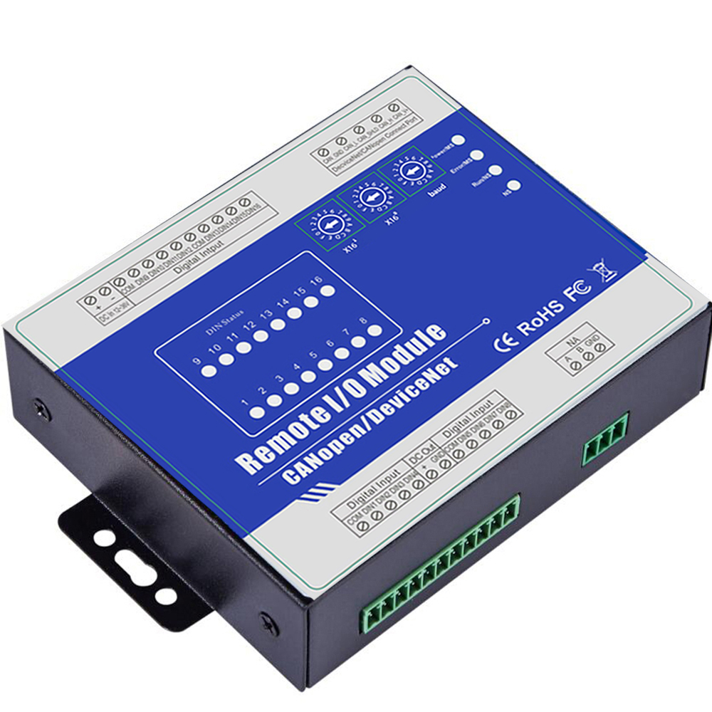 US $139 0 |CANopen Remote Multi I/O Module Can be intergraded into HMI  SCADA system Support Predefined Master/Slave M410C-in Alarm Host from  Security