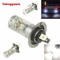 2Pcs New Universal High Power Car 140W 1200LM 28LEDS SHARP Chip H7 Fog Lamp 12V Car