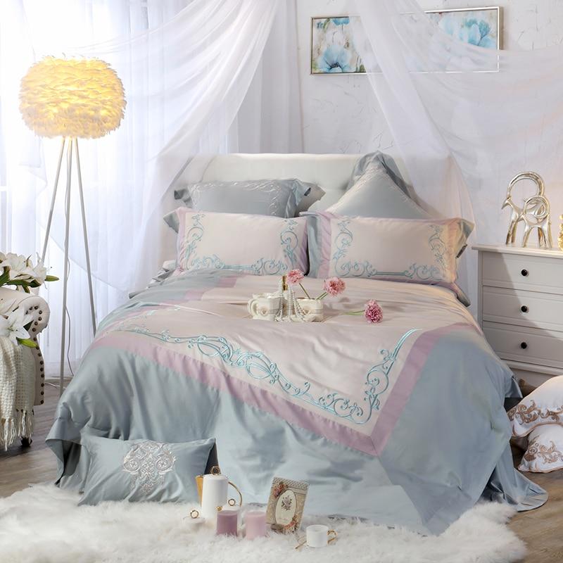 Luxury Egyptian Cotton Princess Bedding Set Queen King