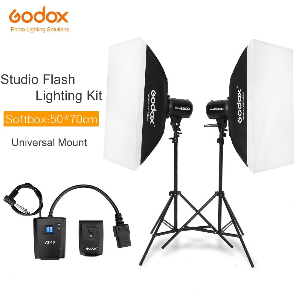 600Ws Godox Strobe Studio Flash Light Kit 600W - Photographic Lighting - Strobes, Light Stands, Triggers, Soft Box