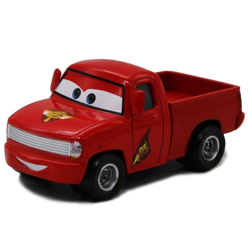 disney pixar cars mcqueen red pick up truck diecast 1 55 mcqueen metal model alloy car. Black Bedroom Furniture Sets. Home Design Ideas