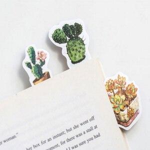 Image 4 - 20packs/lot sveglio serie di piante grasse autoadesivo etichetta della decorazione di DIY dress up per dairy album segnalibro allingrosso