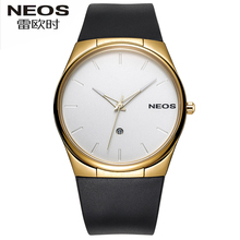 NEOS Men s Watch Ultra thin Simple Fashion Models Leisure Waterproof Students Youth Sports Watches Hot