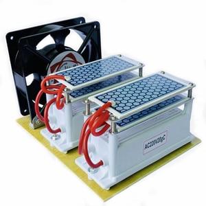 Image 2 - 220V/110V 20g קרמיקה אוזון מחולל אוזון כפול משולב ארוך חיים קרמיקה צלחת Ozonizer אוויר מים אוויר מטהר