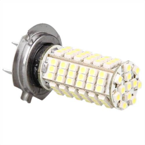 H7 12 v 102 3528 smd conduziu a lâmpada branca do carro da lâmpada