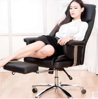 Купить с кэшбэком The study home is modern contracted computer boss chair can lie.
