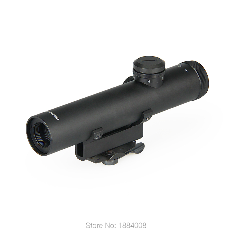 New Arrival And Hot Sale Tactical 4x20mm Rifle Scope For Hunting BWR-003