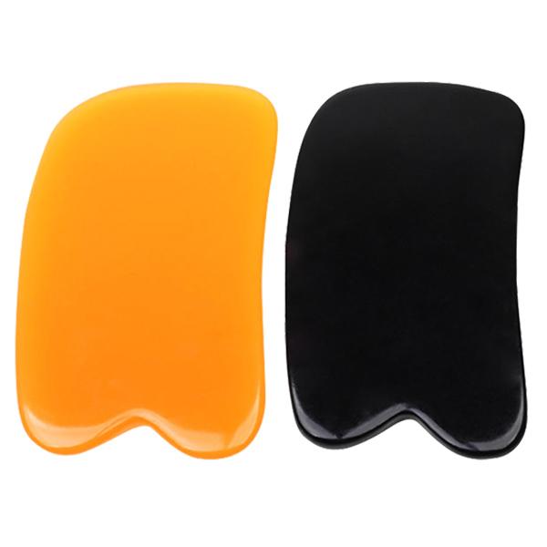 Amber Color Gua Sha Massage Tool