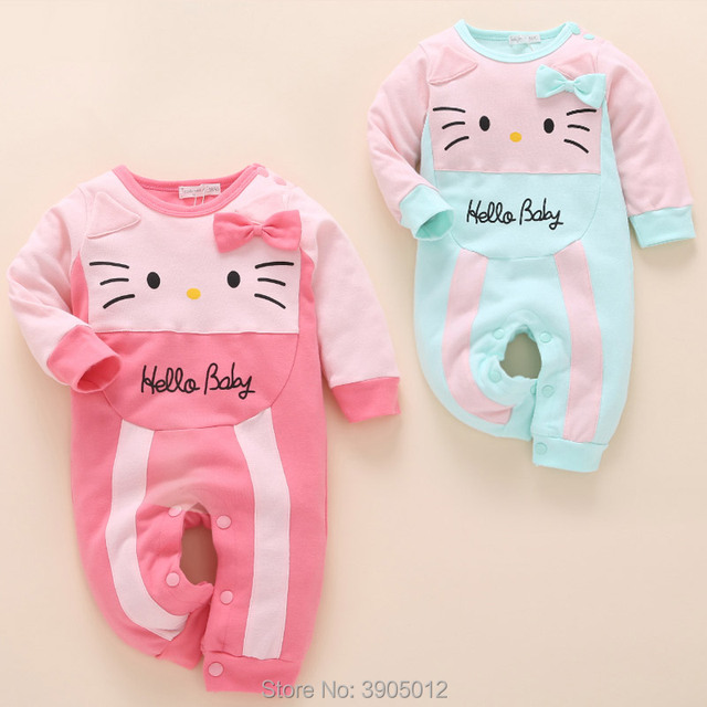 7ec23291eb58 2018 Top Fashion Baby Romper Infantil Newborn Girl Clothes Cute Spring 0-1  Year Old 6-12 Months 3 Girls And Autumn Winter