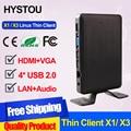 Tudo vencedor A9 Dual Core 1.5 GHz Linux Thin Client Nuvem Computador X3 rdp 7.0 1g ram + 4g de armazenamento flash pc estação de computador virtual