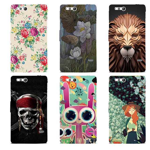 Case for Sony Xperia Go St27i Cover Beautiful Original Plastic Printed Cartoon Phone Case Printing Drawin Cases