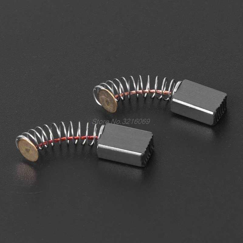 2 قطعة فرشاة الحفر الكهربائية الكربون قطع غيار ديوالت/لبوش/لماكيتا ElectricTool 5X8X12mm -501 # Whosale & دروبشيب