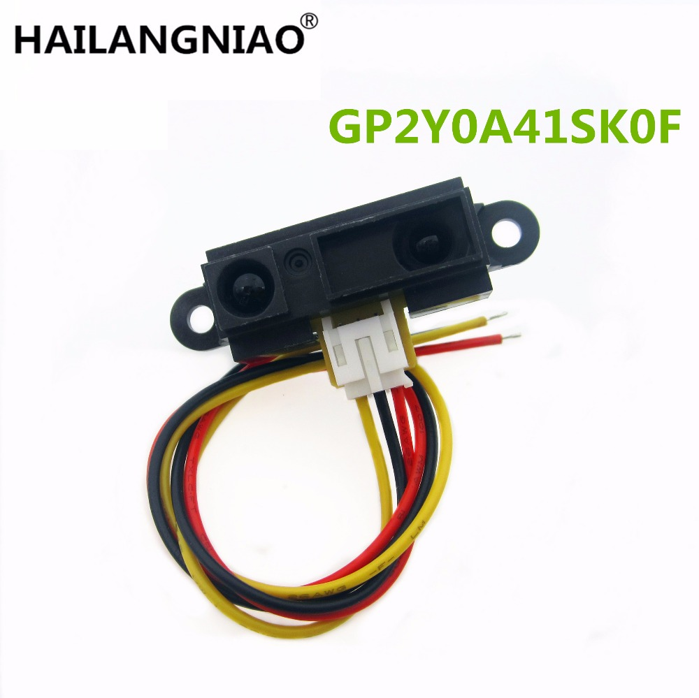 GP2Y0A41SK0F 100% NEW 4-30cm Infrared distance sensor 0A41SK INCLUDING WIRE