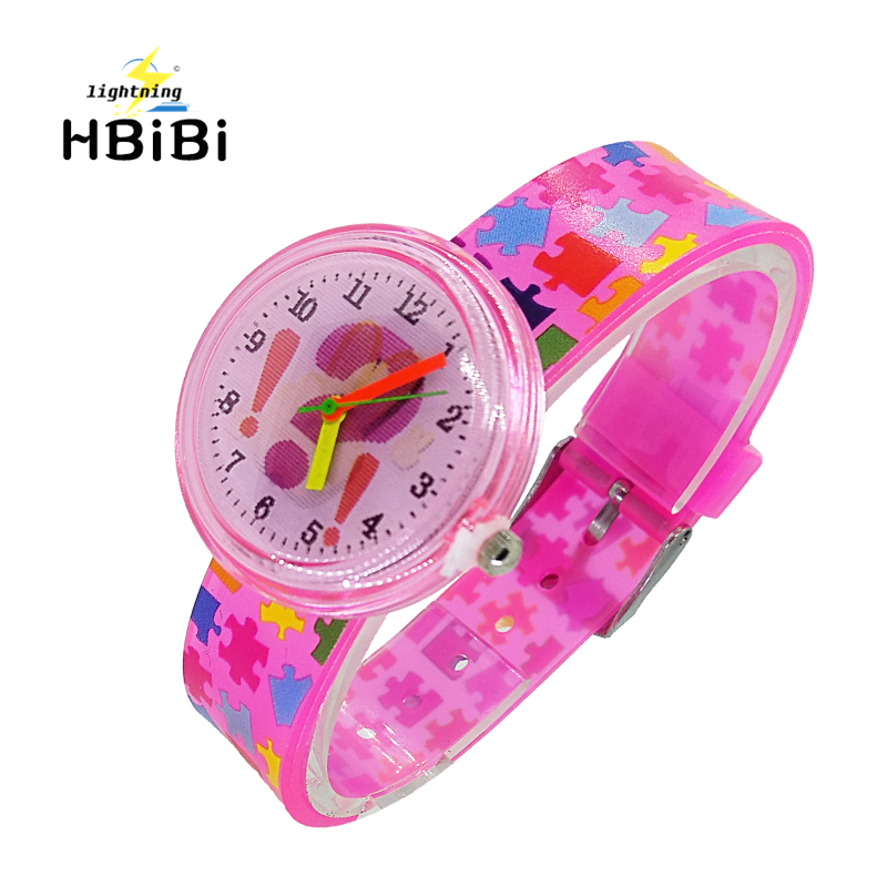 3D Cartoon Punctuation Smiley Face Children Watch Waterproof Casual Transparent Jelly Kids Watches For Boys Girls Student Clock