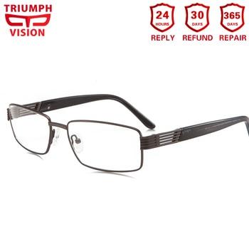 c8201c7933bab TRIUMPH VISION gafas fotocromáticas para hombres gafas graduadas hombres  rectángulo gafas Multifocal Progresiva gafas de lectura