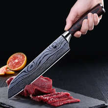 German High Carbon Stainless Steel Chef Knife Kitchen  damascus chef knife kitchen knives chefs profesional