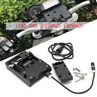 FOR BMW F850GS F850 GS F750GS F750 GS 2018 2019 motorcycle Stand Holder Phone Mobile Phone GPS Plate Bracket Phone Holder USB