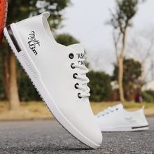 new 2019 summer mens casual shoes men leather shoes lightweight comfortable breathable walking sneakers men flats Zapatos Hombre цены онлайн